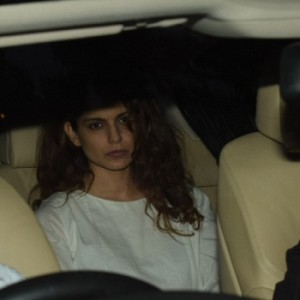 Aamir khan and Kangana Ranaut at sridevi house