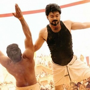 Know what the rank of Mersal is at the box office?