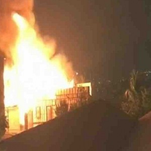 Big accident: This popular actor's studio catches fire!