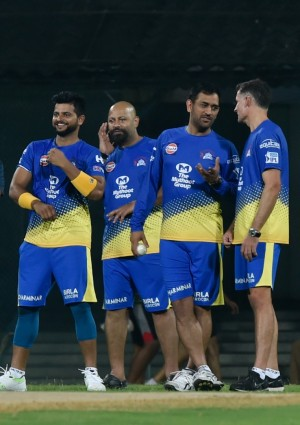 Chennai Super Kings' Practice Session