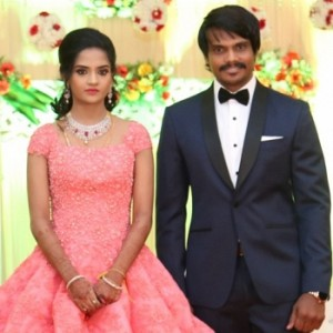 Esakki Kishore and Chandra Roshini Wedding Reception