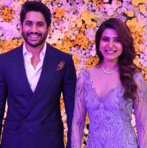Samantha - Naga Chaitanya's Reception