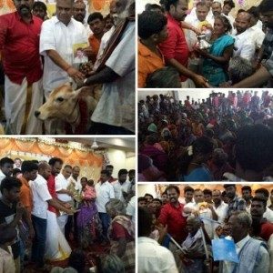 Welfare Activities by Vijay Makkal Iyakkam in Madurai