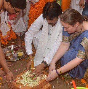 Pawan Kalyan's New House Bhoomi Pooja Function