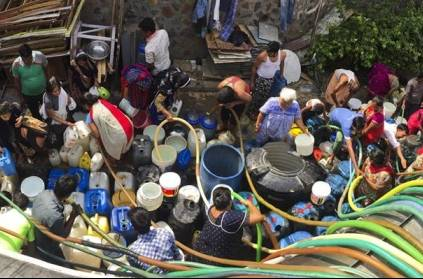water scarcity problem in chennai corporation