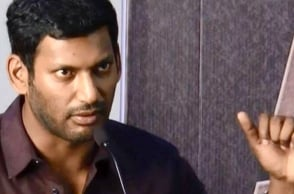 Actor Vishal praises this actress' brave move