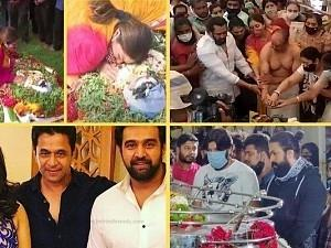 Funeral video of Late Chiranjeevi Sarja - emotionally draining moments of grief!