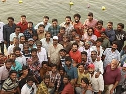 Vijay Sethupathi completes his portions for this much-awaited film; Group pic goes viral!