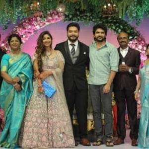 MS Bhaskar Daughter Wedding