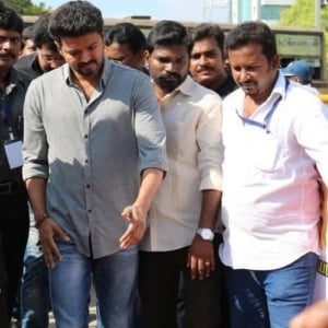 Thalapathy Vijay attends TFPC's hunger strike against Sterlite and Cauvery issues - photos here